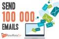 Sending 100 000 emails