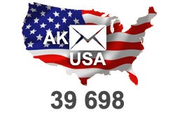 2021 fresh updated USA Alaska 38 698 email database