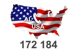 2021 fresh updated USA Alabama 172 184 Business database