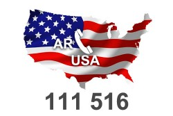 2021 fresh updated USA Arkansas 111 516 Business database