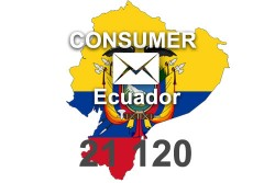2021 fresh updated Ecuador 21 120 Consumer email database