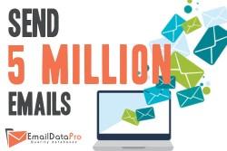 Sending 5 million emails