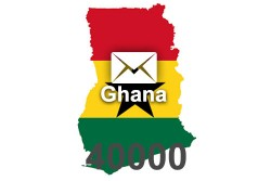 2020 fresh updated Ghana 40 000 business email database