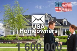 2021 fresh updated USA home owners 1 000 000 email database