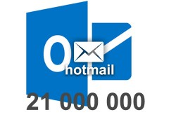 2020 fresh updated Hotmail 21 000 000 Consumer email database