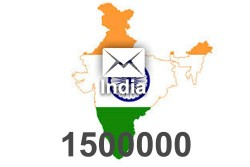 2021 fresh updated India 1 500 000 business email database