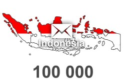 2021 fresh updated Indonesia	100000 business email database