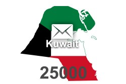 2021 fresh updated Kuwait 25 000 business email database