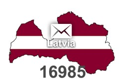 2021 fresh updated Latvia 16 985 business email database