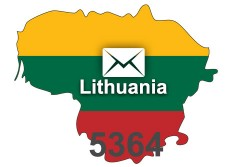 2020 fresh updated Lithuania 5 364 business email database