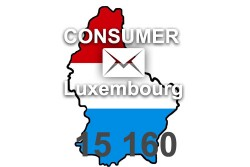 2020 fresh updated Luxembourg 15 160 Consumer email database