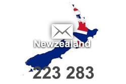2021 fresh updated Newzealand 223 283 business email database