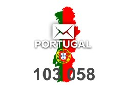 2020 fresh updated Portugal 103 058 business email database