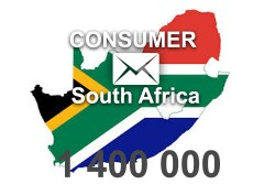 2021 fresh updated South Africa 1 400 000 Consumer email database