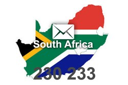 2021 fresh updated South Africa 230 233 business email database