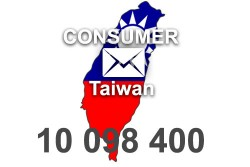 2021 fresh updated Taiwan 10 098 400 Consumer email database