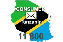 2021 fresh updated Tanzania 11 800 Consumer email database