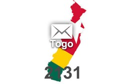 2020 fresh updated Togo	2 131 business email database