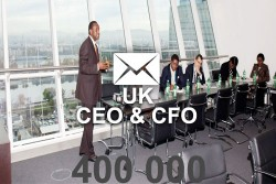 2021 fresh updated United Kingdom CEO & CFO 400 000 email database