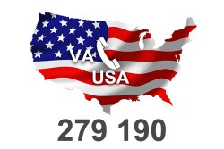 2021 fresh updated USA Virginia 279 190 Business database