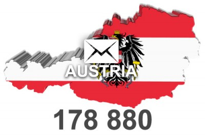 2020 fresh updated Austria 178 880 business email database