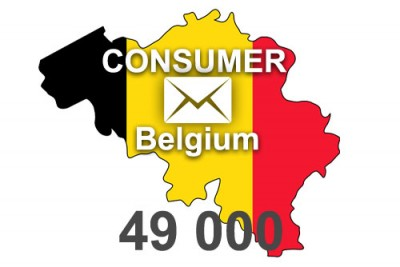 2020 fresh updated Belgium 49 000 Consumer email database