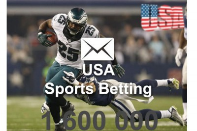 2020 fresh updated USA sports betting 1 600 000 email database
