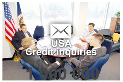 2019 fresh updated USA credit inquiries 1 000 000 email database
