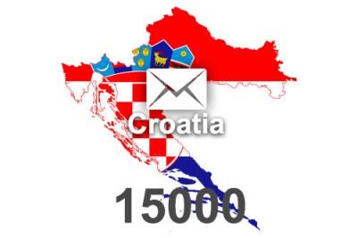 2020 fresh updated Croatia 15 000 business email database
