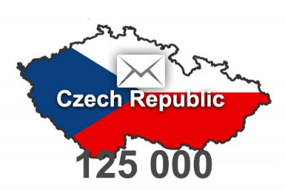 2020 fresh updated Czech Republic 125 000 business email database