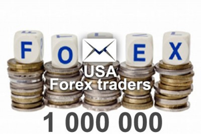 2018 fresh updated USA Forex traders 1 000 000 email database
