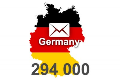 2020 fresh updated Germany 294 000 business email database