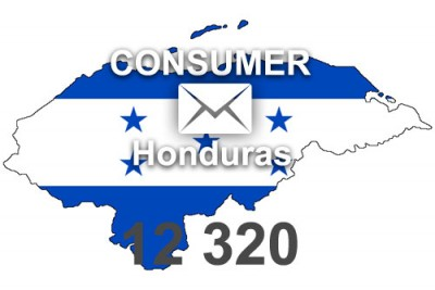 2020 fresh updated Honduras 12 320 Consumer email database