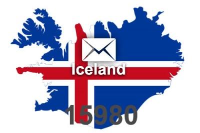 2021 fresh updated Iceland 15 980 business email database