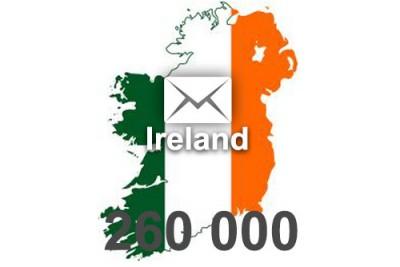 2021 fresh updated Ireland 260 000 business email database