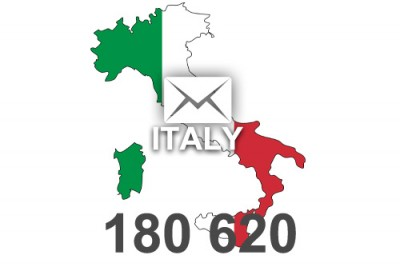 2014 fresh updated Italy 180 620 business email database
