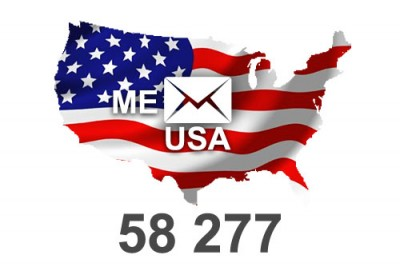 2018 fresh updated USA Maine 58 277 email database
