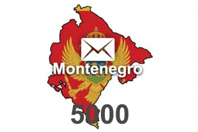 2020 fresh updated Montenegro 5 000 business email database