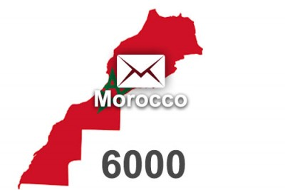 2020 fresh updated Morocco 6 000 business email database