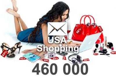 2021 fresh updated shopping 460 000 email database