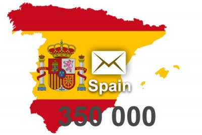 2019 fresh updated Spain 350 000 business email database