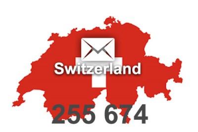 2021 fresh updated Switzerland 255 674 business email database