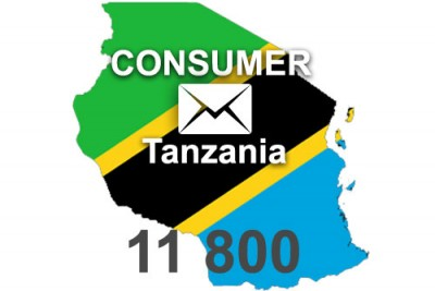 2020 fresh updated Tanzania 11 800 Consumer email database