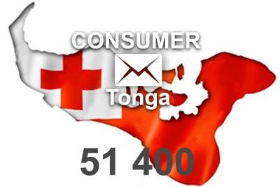 2020 fresh updated Tonga 51 400 Consumer email database