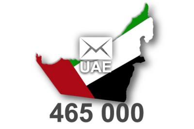 2019 fresh updated United Arab Emirates 465 000 business email database