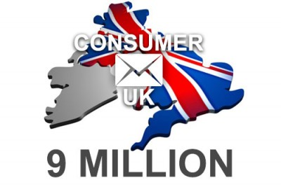 2019 fresh updated United Kingdom 9 Million Consumer email database