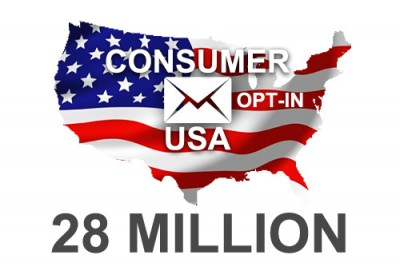 2019 fresh updated USA 28 Million Consumer email database