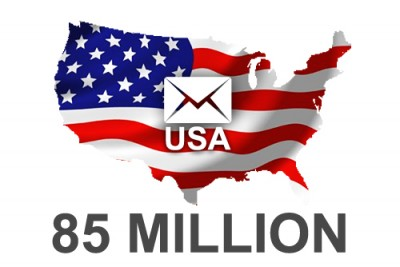 2019 fresh updated USA 85 Million Business email database